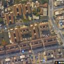 Visão de cima do conjunto da Guaporé, em Brás de Pina, Rio de Janeiro
