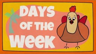 Days of the Week Song   The Singing Walrus