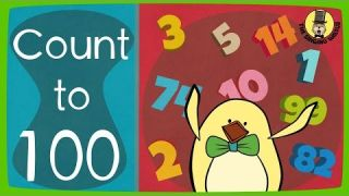 Big Numbers Song   Count to 100 Song   The Singing Walrus
